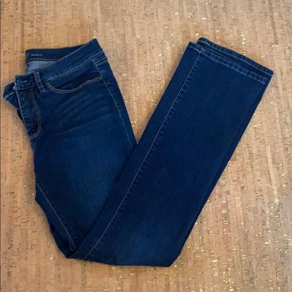 New York & Company Denim - NY & Co Bootcut DarK Wash Jeans, size 10